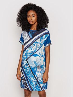 Desigual Desigual Robe de jour Solimar 21SWVK29 Bleu Regular Fit