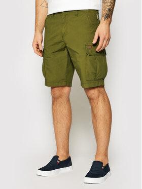 Napapijri Napapijri Pantalon scurți din material Noto 4 NP0A4F9U Verde Regular Fit