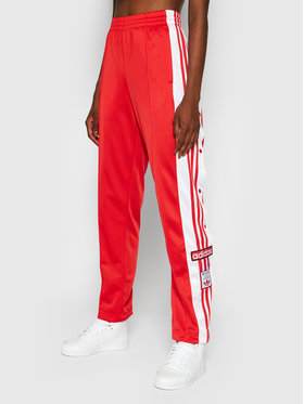 adidas adidas Долнище анцуг adicolor Classics Adibreak H34672 Червен Regular Fit