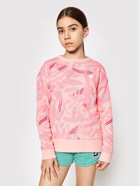 4F 4F Sweatshirt HJL21-JBLD003 Rose Regular Fit