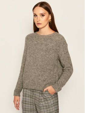 Weekend Max Mara Weekend Max Mara Pull Amici 53662109 Gris Regular Fit