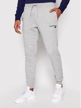 New Balance New Balance Teplákové kalhoty C C F Pant MP03904 Šedá Athletic Fit