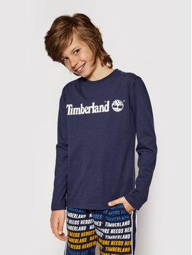Timberland Timberland Μπλουζάκι T25S26 S Σκούρο μπλε Regular Fit