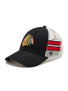 47 Brand 47 Brand Шапка с козирка Chicago Blackhawks Wilis H-WILIS04WMP-BK Черен
