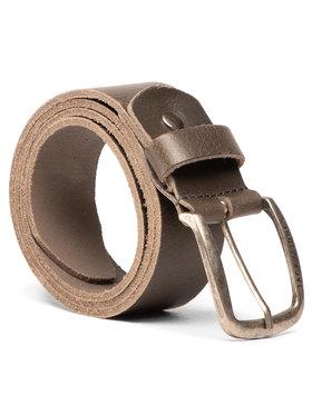 Jack&Jones Jack&Jones Vyriškas Diržas Jackpaul Leather Belt 12111286 Žalia