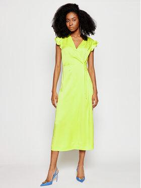 TwinSet TwinSet Každodenné šaty 211TT2151 Zelená Regular Fit