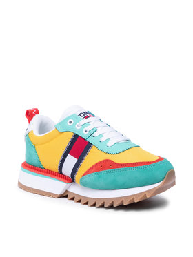 Tommy Jeans Tommy Jeans Sneakersy Abo Cleated Tommy Jeans Sneakers EN0EN01619 Kolorowy