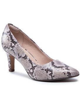 Clarks Clarks Pantofi Illeana Tulip 261575114 Bej