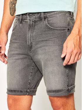 Wrangler Wrangler Дънкови шорти 5 Pocket W14CU311R Сив Slim Fit