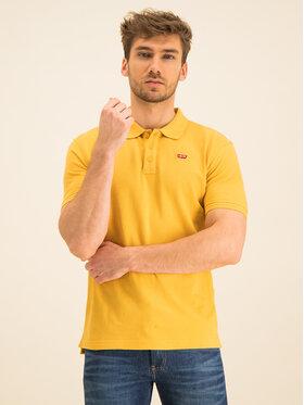 Levi's® Levi's® Тениска с яка и копчета Housemark 22401-0109 Жълт Regular Fit