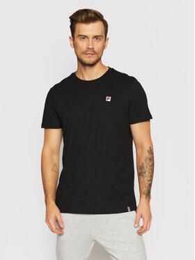 Fila Fila T-Shirt Samuru 688977 Černá Regular Fit