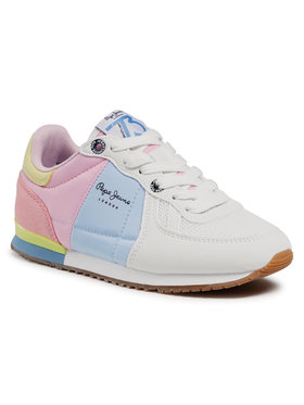 Pepe Jeans Pepe Jeans Sneakersy Sydney Basic Girl PGS30497 Kolorowy