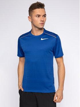 Nike Nike T-shirt technique Miler AJ7565 Bleu Standard Fit