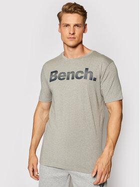Bench Bench T-shirt Vito 117765 Grigio Regular Fit