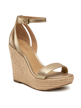 MICHAEL Michael Kors MICHAEL Michael Kors Espadrilles Kimberly Wedge 40S1KBHS1M Or