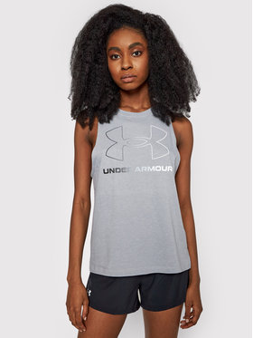 Under Armour Under Armour Блуза Sportstyle Graphic Tank 1356297 Сив Regular Fit