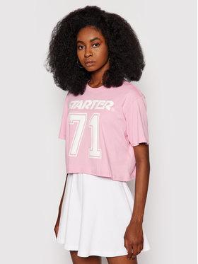 Starter Starter T-Shirt SDG-006-BD Różowy Regular Fit