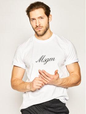 MSGM MSGM Marškinėliai 2840MM237 207098 Balta Regular Fit