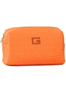 Guess Guess Pochette per cosmetici Caris Accessories PWCARI P0214 Arancione