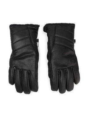 Salomon Salomon Дамски ръкавици Insulated Gloves Gants LC1183700 Черен