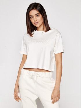 Sprandi Sprandi T-Shirt SS21-TSD002 Béžová Cropp Fit