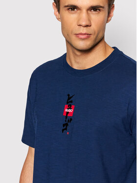 Hugo Hugo T-shirt Dasabi 50448452 Bleu marine Regular Fit
