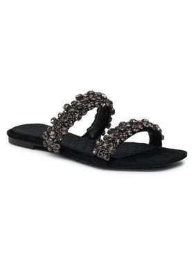 Tory Burch Tory Burch Klapki Crystal Slide 5Mm Sandal Czarny