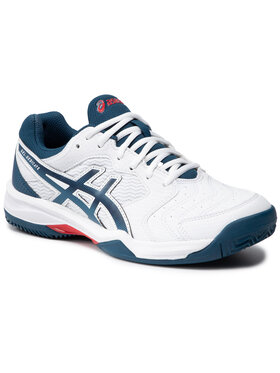 Asics Asics Παπούτσια Gel-Dedicate 6 Clay 1041A080 Λευκό