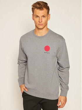 Edwin Edwin Sweatshirt Japanese Sun I028969 TJ7571P MDF67 Grau Regular Fit