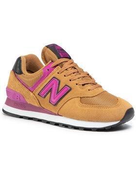 New Balance New Balance Sneakersy WL574LBJ Hnědá