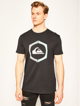 Quiksilver Quiksilver T-Shirt Surethingss EQYZT05762 Czarny Regular Fit