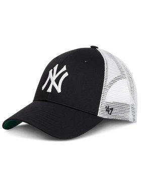47 Brand 47 Brand Шапка с козирка New York Yankees 47 BRAND-B-BRANS17CTP-BK Черен