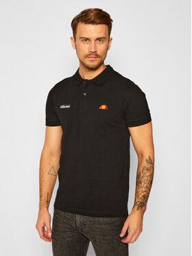 Ellesse Ellesse Тениска с яка и копчета Montura SHS04475 Черен Regular Fit