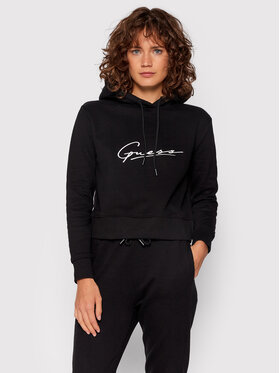 Guess Guess Sweatshirt O1BA09 KAOR1 Noir Regular Fit