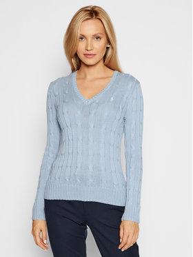 Polo Ralph Lauren Polo Ralph Lauren Sweater 211580008074 Kék Regular Fit