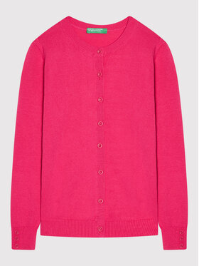 United Colors Of Benetton United Colors Of Benetton Cardigan 12DRC5383 Rose Regular Fit