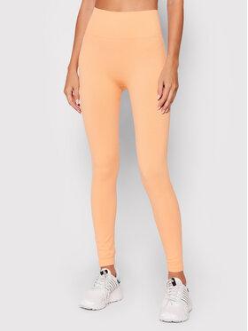 Guess Guess Legginsy Alma O1BA15 ZZ04S Pomarańczowy Slim Fit