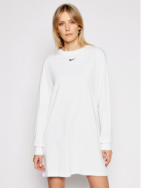 Nike Nike Sukienka codzienna Nsw Essential CU6509 Biały Loose Fit