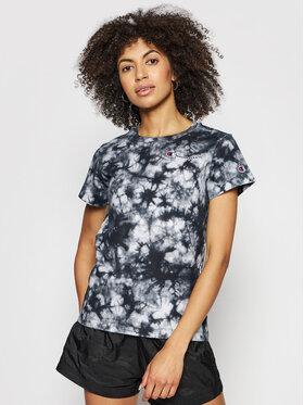 Champion Champion T-Shirt Tie Dye Digital Print 113939 Černá Custom Fit