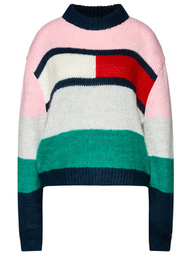 Tommy Jeans Tommy Jeans Пуловер Bell DW0DW08868 Цветен Oversize