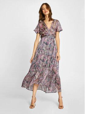 Morgan Morgan Sukienka letnia 201-RILE.P Kolorowy Regular Fit