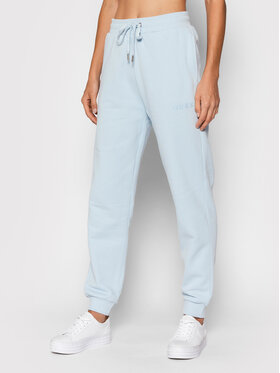 Guess Guess Teplákové kalhoty O1GA04 K68M1 Modrá Regular Fit