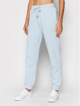Guess Guess Teplákové nohavice O1GA04 K68M1 Modrá Regular Fit