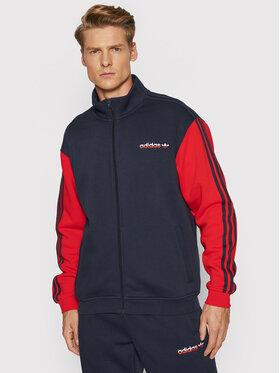 adidas adidas Polár kabát Firebird H31266 Sötétkék Regular Fit