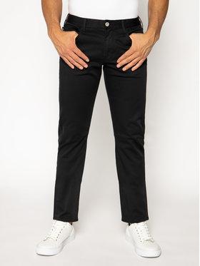 Emporio Armani Emporio Armani Spodnie materiałowe 3H1J06 1NEDZ 0999 Czarny Slim Fit