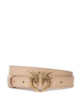 Pinko Pinko Dámský pásek Love Berry Waist Simply Belt H2. AI 21-22 PLT01 1H20XA Y6XT Béžová