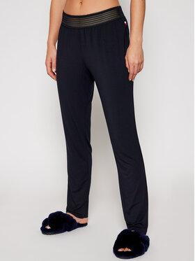 TOMMY HILFIGER TOMMY HILFIGER Текстилни панталони UW0UW02550 Тъмносин Regular Fit