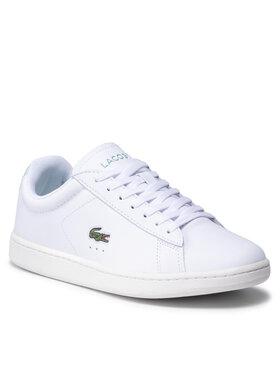 Lacoste Lacoste Sneakersy Carnaby Evo 0121 1 Sfa 7-42SFA00162L6 Biela