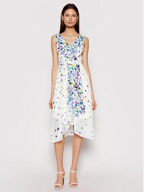 DKNY DKNY Sommerkleid DD0DG576 Weiß Regular Fit