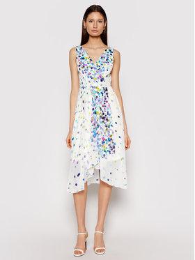 DKNY DKNY Sukienka letnia DD0DG576 Biały Regular Fit